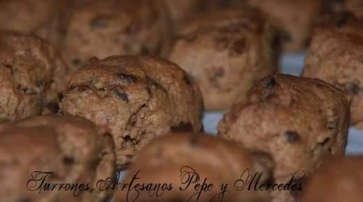 Polvorones-chocolate