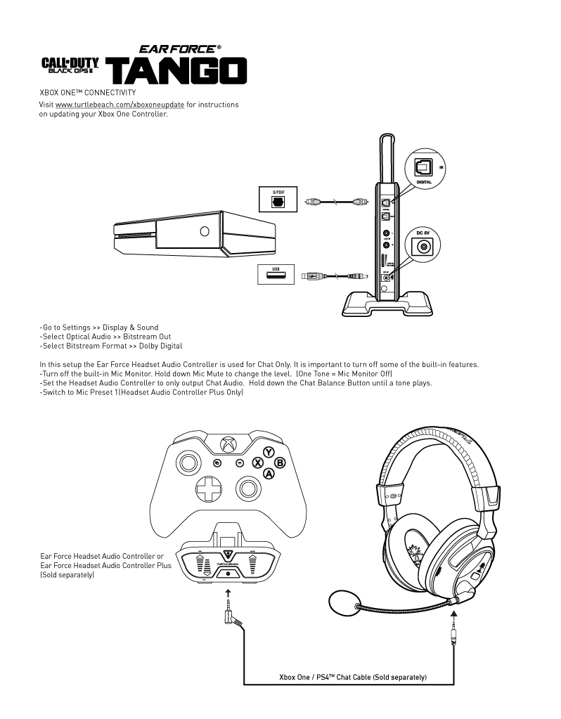 Turtle Beach X11 Wiring Schematic Xbox 360
