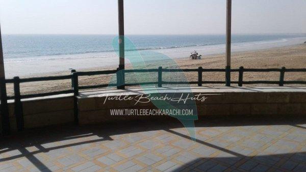 RENT BEACH HUT AT TURTLE BEACH KARACHI – TB5