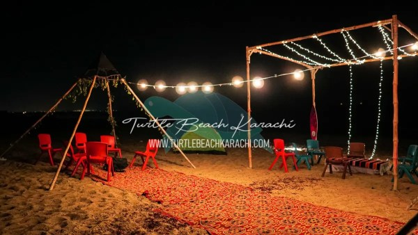 Beach Camping & Movie Night with Family n Friends
