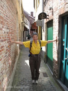 Once the Red Light district of Brugge, now it's simply known as the narrowest street in the city.