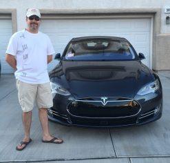 Michael and Tesla Model S 90D