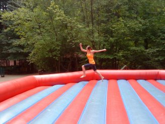 I can jump...