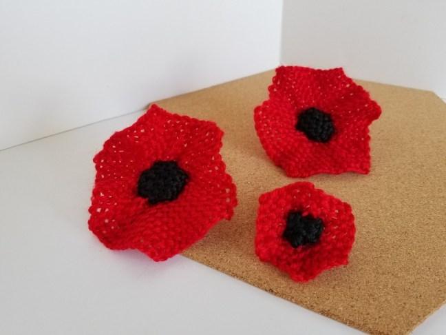Memorial Day Poppy Flower Turtle Looms Hexagon Pin Loom Weaving