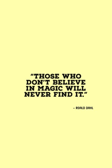 quotes by roald dahl