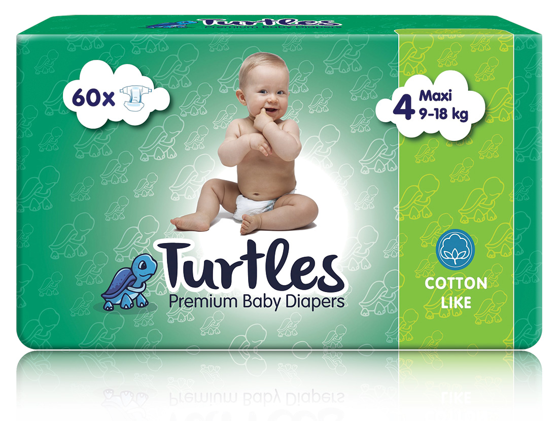 Pelene Turtles MAXI 4