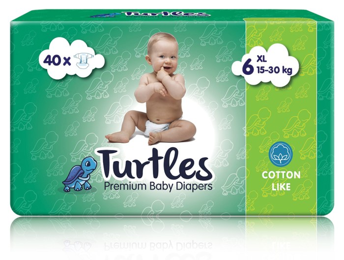 Pelene Turtles XL 6
