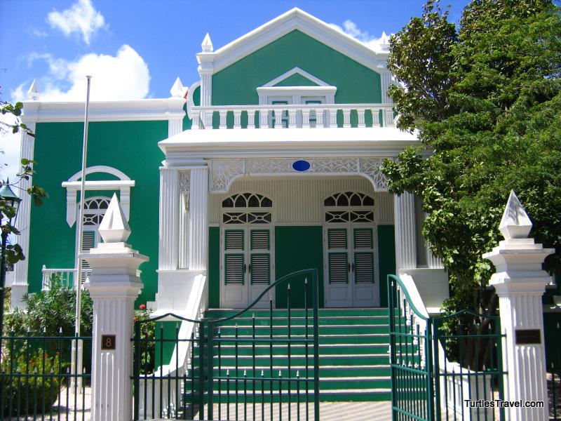 Oranjestad Architecture