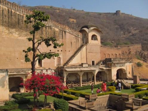 Bundi Palace Courtyard