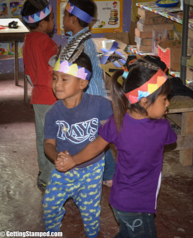 """We had a happened to visit a Mayan Village and school during the festival """"Dia de Lempira"""". The school was buzzing, and classrooms were full of dancing kids!"""
