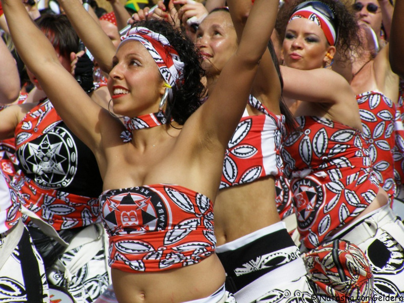 My post is on London's famous Notting Hill Carnival, held at the end of August. Full of colour and music, the dancing is literally everywhere.