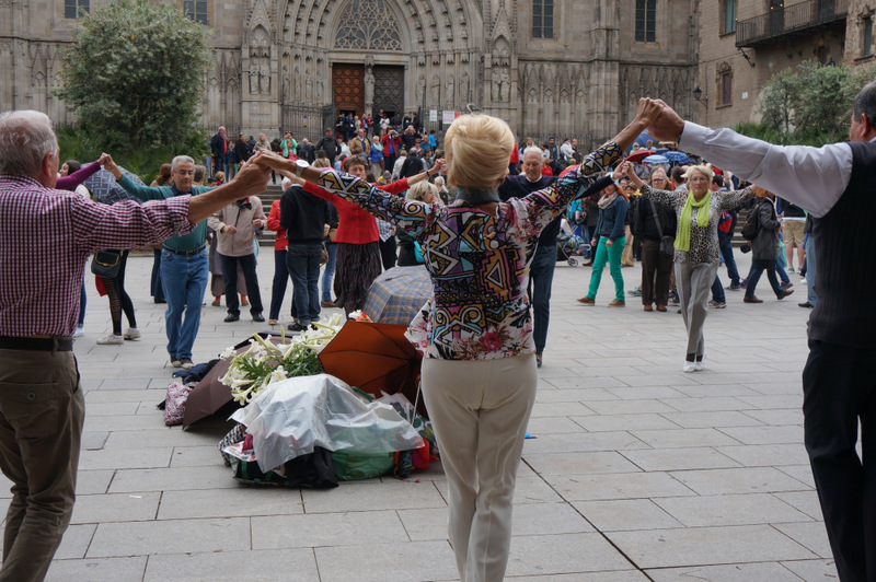 Dance is so evocative of country and culture, a perfect them choice for a travel blog. It was hard to choose for me but I've gone for the Sardana because it is such an important part of Catalan tradition.