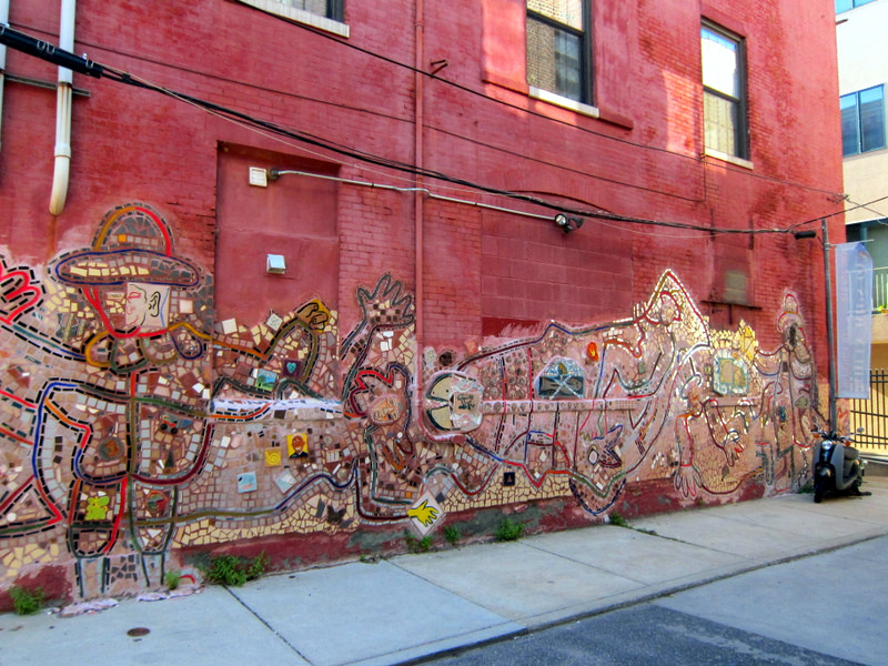 Street art and the beauty of philadelphia murals for Mural tour philadelphia map