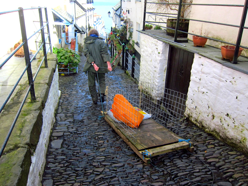 Sledge Clovelly