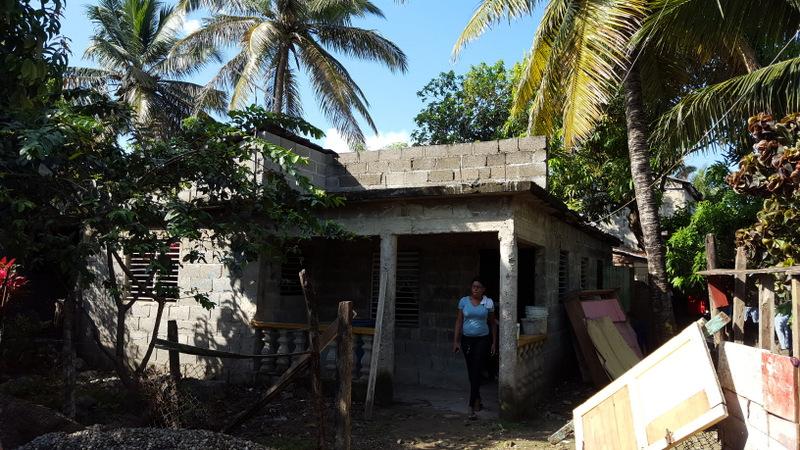 The family home in El Javillar.