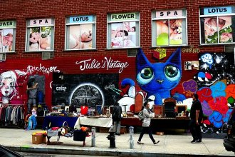 Julie's Vintage 2nd Ave @ 1st St