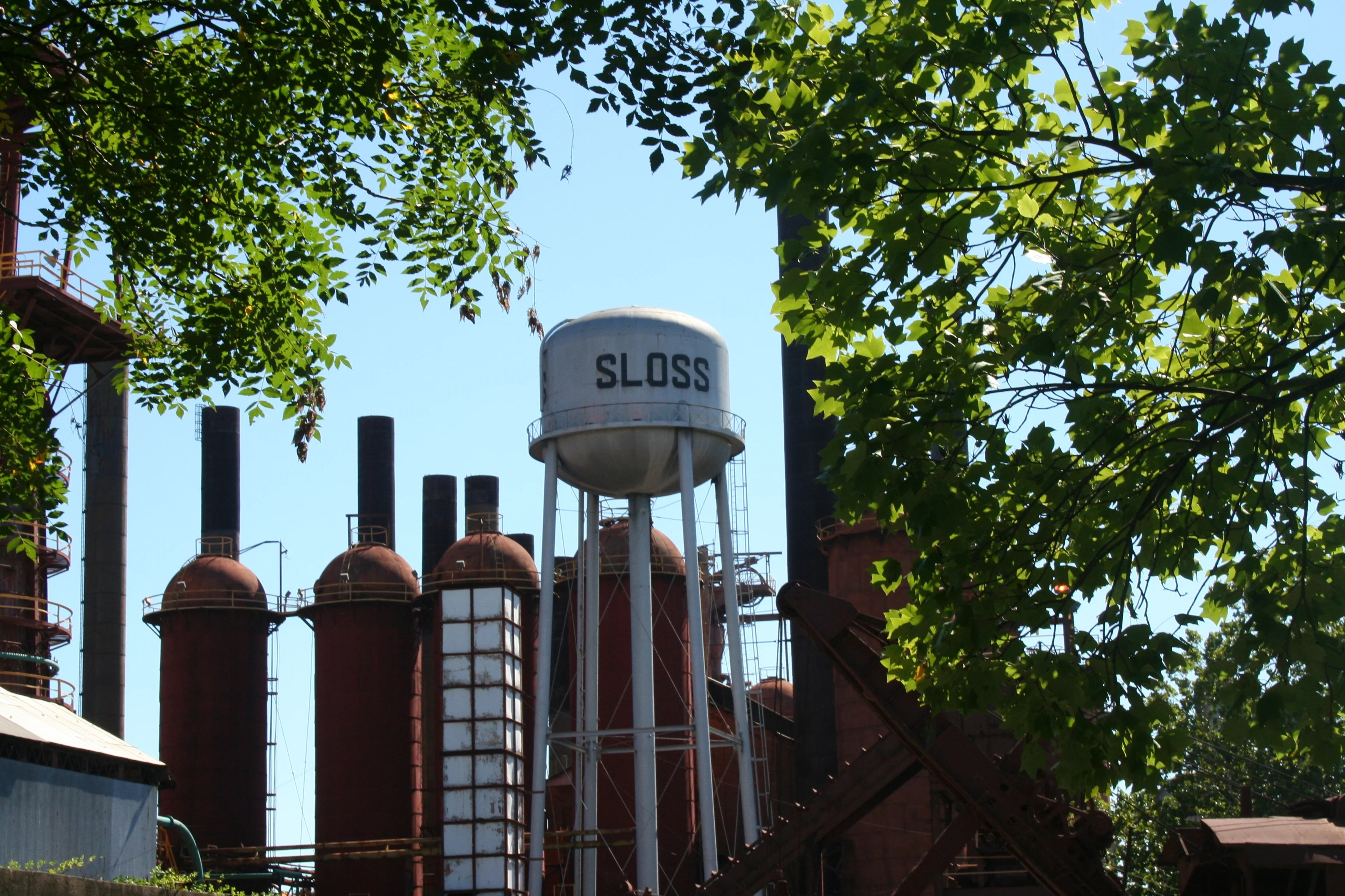 Sloss Furnaces Birmingham Alabama