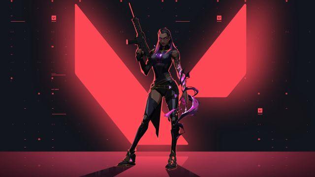 Reyna with gun