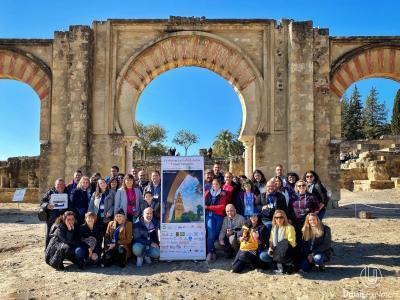 Ftoto de grupo de Andalucía Travel Bloggers
