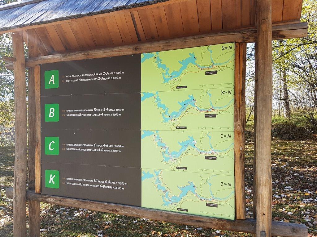 Rutas en los lagos de Plitvice