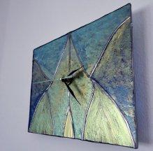 ceas de perete vitrat 011-1