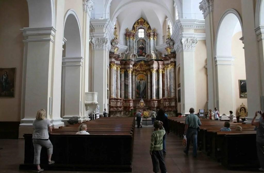 kościół św Kazimierza w Wilnie