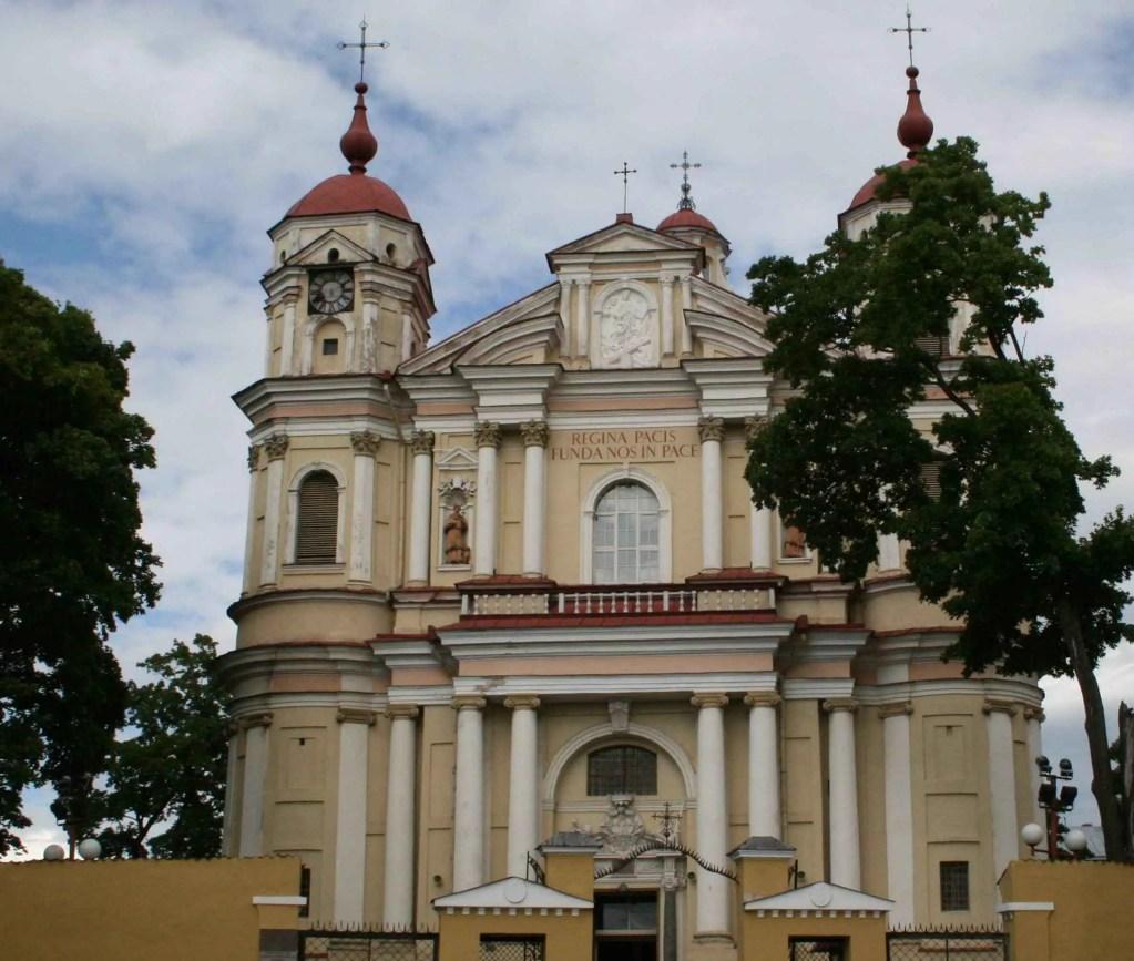 kościół św Piotra i Pawła na Antokolu w Wilnie