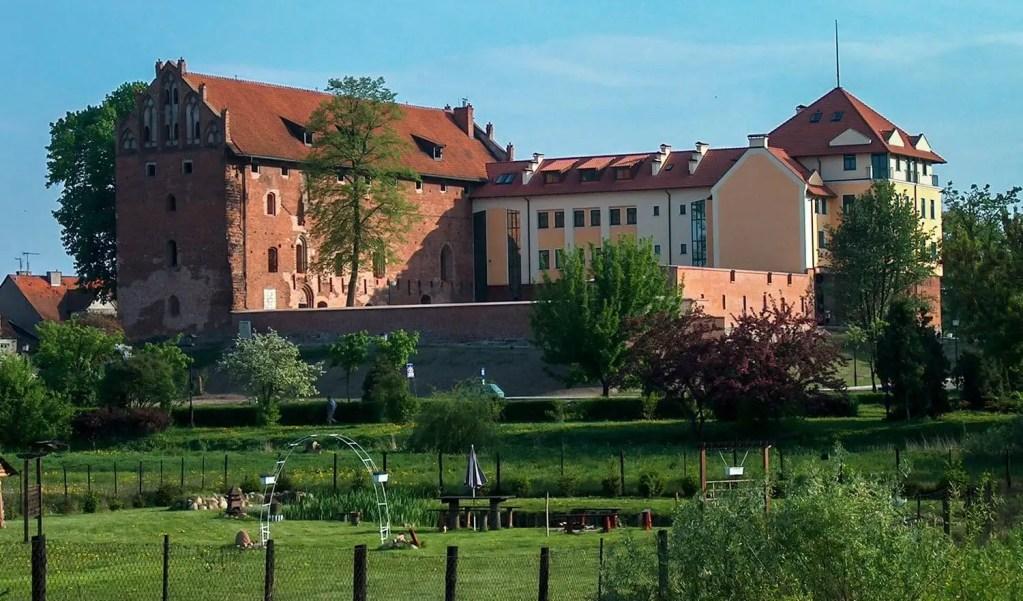 Zamek krzyżacki w Działdowie