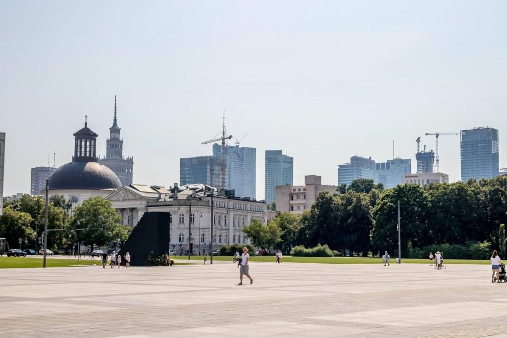 Plac Józefa Piłsudskiego w Warszawie