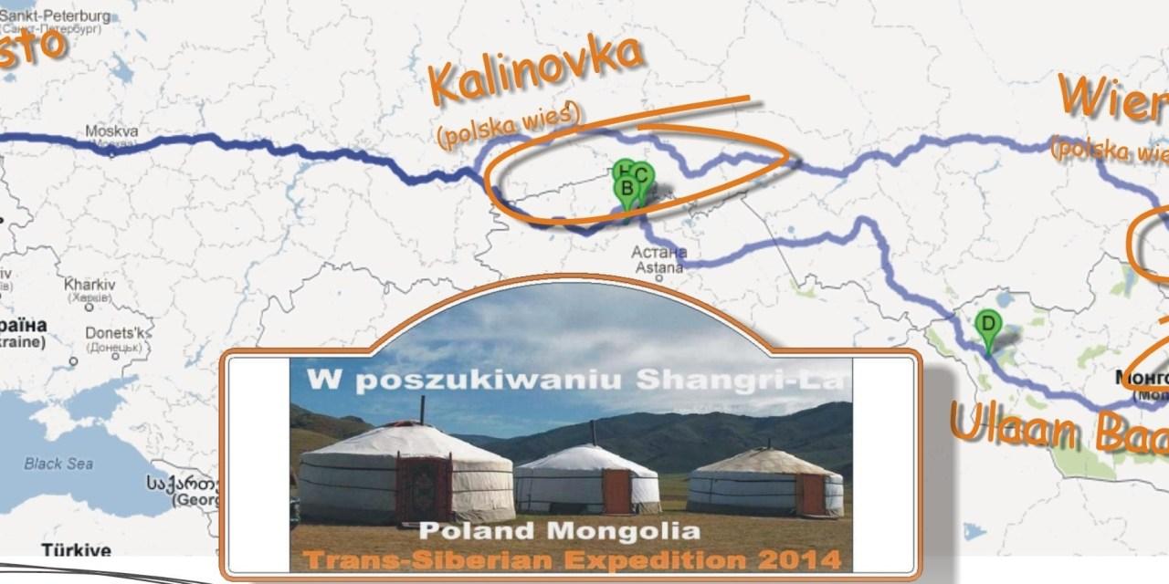 W poszukiwaniu Shangri-La – Poland Mongolia Trans-Siberian Expedition 2014
