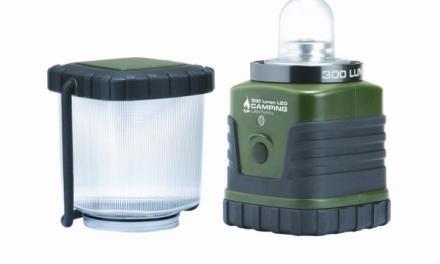 MacTronic CampPro LT-300D – lampa kempingowa na każdą wyprawę