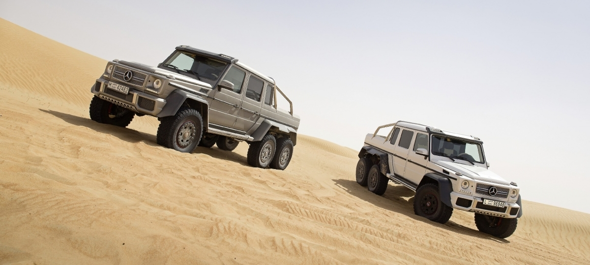 Mercedes 6×6 – znamy ceny !
