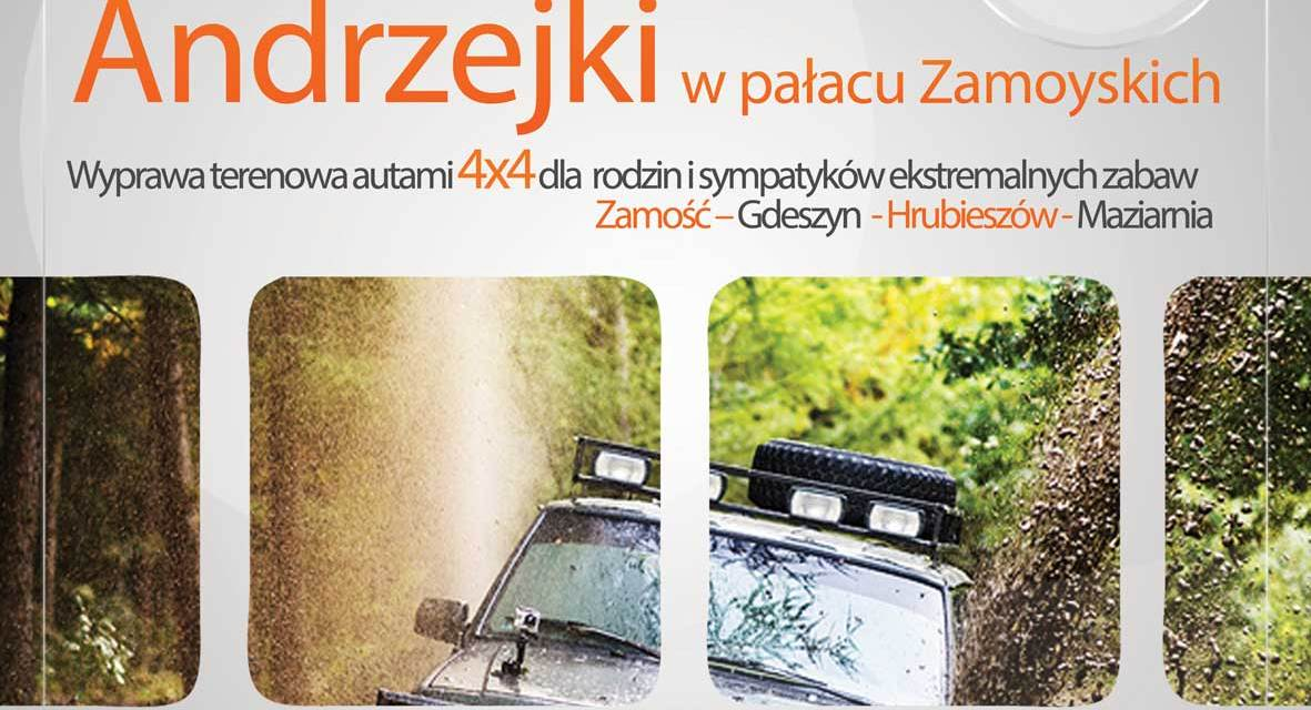 Off-roadowe Andrzejki w pałacu Zamoyskich
