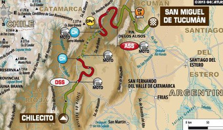 Dakar etap 5: Chilecito – Tucuman