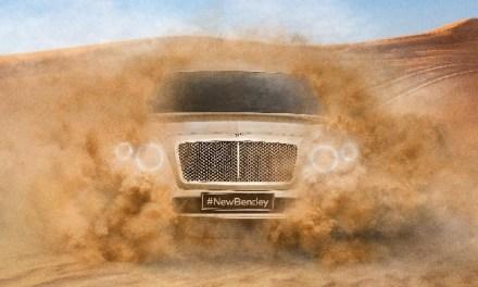 Bentley SUV – pierwsze oficjalne zdjęcie