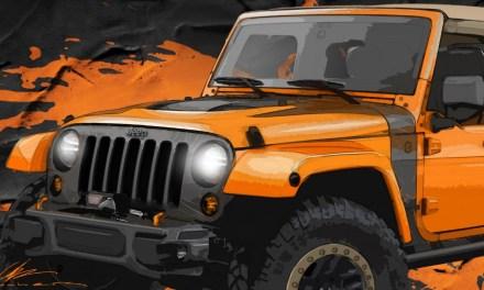 Jeep i Mopar na Moab Easter Jeep Safari 2014