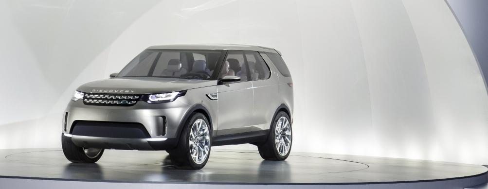 Land Rover – wizja nowego Discovery