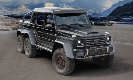 Mercedes-Benz G 63 AMG 6×6 – tuning Mansory