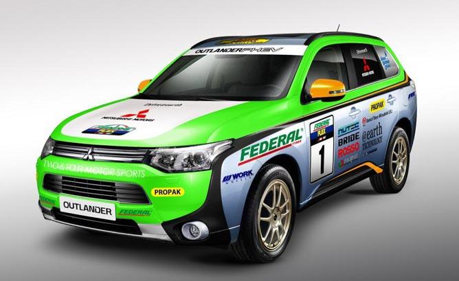 Outlander PHEV wystartuje w Asia Cross Country Rally 2014