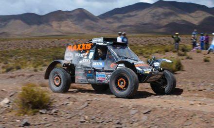 Mini buggy na Dakar 2015