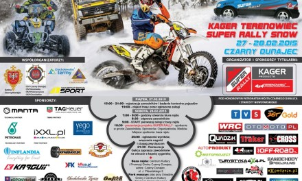 Kager Terenowiec SUPER RALLY Snow 27-28 LUTY 2015