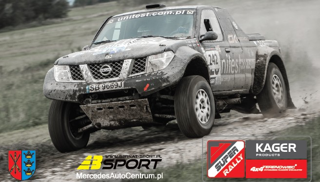 I runda Kager Terenowiec Super Rally
