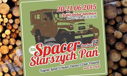 Spacer Starszych Pań – Zlot Serii J4 Toyoty Land Cruiser