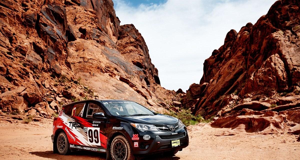Toyota RAV4 wystartuje w Rally America
