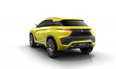 Mitsubishi eX Concept na Tokyo Motor Show 2015