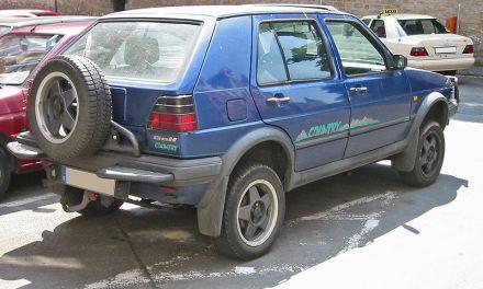 VW Golf Country – dzielny i klasyczny już SUV ma 25 lat