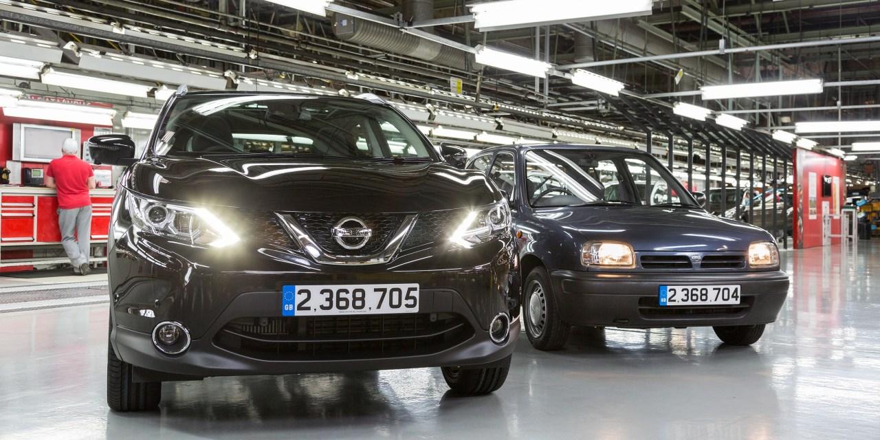 Crossover Qashqai najliczniej produkowanym modelem w historii Nissana w Europie