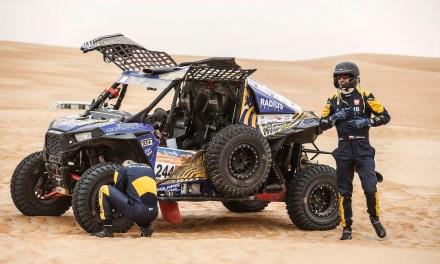 Wyzwanie w Katarze – Aron Domżała i Szymon Gospodarczyk startują w rajdzie Sealine Cross Country Rally