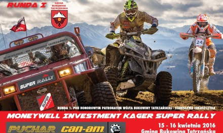 Górski początek sezonu MoneyWell Investment Kager SUPER RALLY 2016