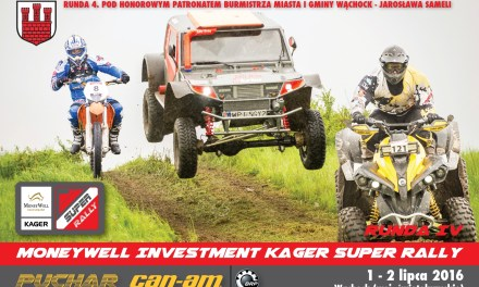 MoneyWell Investment Kager Super Rally – Wąchock – Runda IV – Star Edition